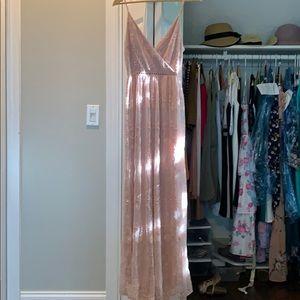 Pretty maxi dress lace
